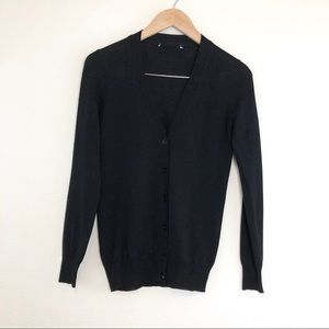 Gucci Employee Uniform Cardigan Button Down Black